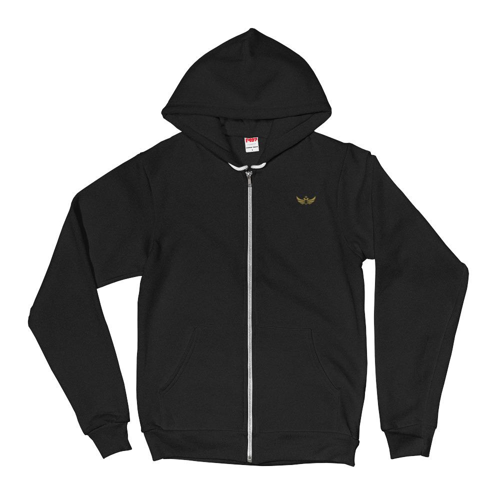55597f58a8 Women s Hoodie Sweater  Gold Eagle Logo – Duran Shop